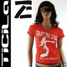 Ticila * Miss Gun pussy * gris/argent sang rouge t-shirt s/m