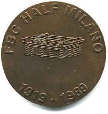 SAN SIRO STADIO MEDAGLIA 70° ANNIVERSARIO HALF FBC CALCIO MILANO 1989