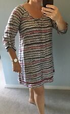 WHITE STUFF 100% Silk Summer Dress Size 10 12