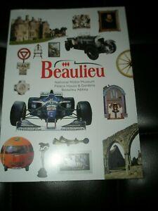 BEAULIEU NATIONAL MOTOR MUSEUM, PALACE HOUSE & GARDENS, BEAULIEU ABBEY - BOOK