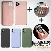 Soft Protective Silicone Case for Apple iPhone 11 Pro Max XR XS Shockproof Cover