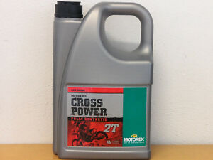 14,73€/l Motorex Cross Power 2T 4 Ltr vollsyn Off Road 2-taktmischöl