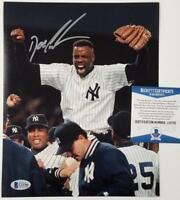 DOC GOODEN Signed 8x10 No Hitter Yankees Photo #2 ~ Beckett BAS COA ITP