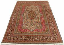 Orient Perser Teppich Ghom Kork 200 x 140 Täbris Keschan Sarough Gartenmuster