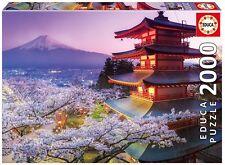 Educa 16775. Monte Fuji, Japón . Puzzle de 2000 piezas. 96x68cm