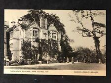 More details for rp vintage postcard - staffs. #b6 - tudor house, haden hill park, old hill 1891