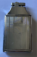 Vintage ATC Silver Metal Butane Cigarette Case & Lighter In One Collectible