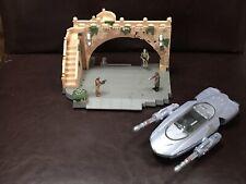 Star Wars Micro Machines Action Fleet Gian Speeder & Theed Palace Playset VGC