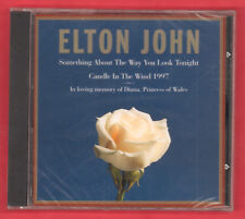 Elton John Something About The Way You Look Tonight Candle In The Wind 1997 New