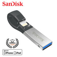 SanDisk iXpand 128GB Lightning USB For iPhone - Tracking include