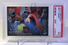 2016 Topps NOW Brett Eibner/Royals RC #105-PSA MINT 9 (only 904 cards produced)
