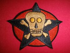 "ARVN Special Forces COMMANDO Recon Team ""DEATH SKULL"" Vietnam War Patch"