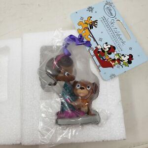 Disney Sketchbook Doc McStuffins & Findo Christmas Ornament 2015 New In Box