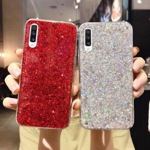 Glitter Phone Case Cover For Huawei P30 P20 Lite Mate 30 Pro Nova 5T 6 Honor V30