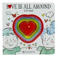 Love Is All Around Lets Sing Sound Book Hardcover NEW