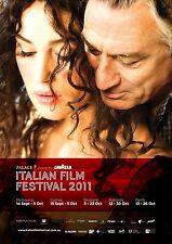 LAVAZZA ITALIAN FILM FESTIVAL AUSTRALIA POSTER ROBERT DE NIRO MONICA BELLUCCI