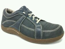 BAREFOOT FREEDOM  By Drew Geneva Blue Leather Comfort Shoes Women's 9 M EUR 42