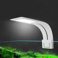 Clip on Aquarium LED Light, Fish Tank Clamp Lamp Small Nano Tanks EU PLUG