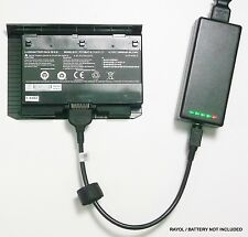 External Laptop Battery Charger for Clevo P375SM P375SMA, Sager X911, P375BAT-8