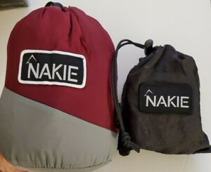 Nakie RIver Blue Recycled Double Hammock New Free Shipping
