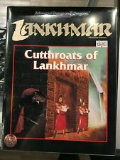 Cutthroats Of Lankhmar Advanced Dungeons Dragons Sealed 9470