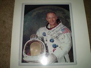 Buzz Aldrin 8X10 Apollo 11 Autographed Photo  COMES WITH RR AUCTION COA.