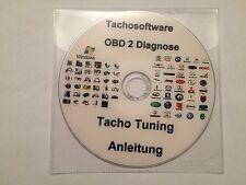 Tachojustierung und Verschiedene OBD 2 Programme