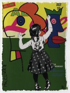 MR CLEVER ART GRAFFITI GIRL ALL LOVE KING CROWN UNIQUE green street urban pop
