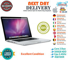 13-inch Apple MacBook Pro 2.4GHz Core 2 Duo 4GB RAM 500GB HDD Mid 2010 A Grade