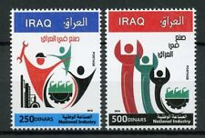 Iraq 2018 MNH National Industry 2v Set Trade Commerce Stamps