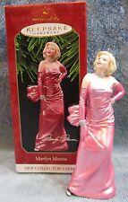 Pinup Girl Marilyn Monroe Hallmark Keepsake Ornament Handcrafted & Sculpted NEW