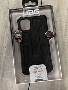 "UAG Urban Armor Gear Monarch Case For iPhone 11 6.1"" Screen - Black"