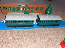 Tomy Trackmaster Thomas train carriages RUSTYS NARROW GAUGE BLUE PASSENGER CARS