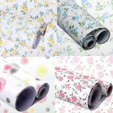 Vinyl Floral Wallpaper Self Adhesive Contact Paper Furniture Shelf Drawer Liner