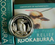 Kookaburra 2012 1 Unze Silber PP High Relief