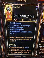 Diablo 3 HARDCORE MODE patch 2.5 new upgraded POWER LEVELING god mode xbox one