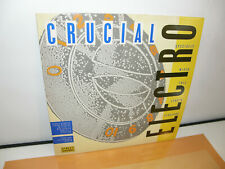 CRUCIAL ELECTRO 1984 LP COMPILATION RECORD STREET SOUNDS PRT RECORDS ELCST 999