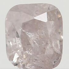 Natural Loose Diamond Brown Grey Color Cushion I3 Clarity 2.80 MM 0.12 Ct KR933