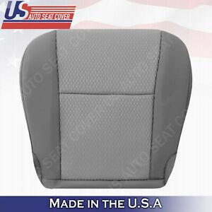 Replacement for 2011-2015 Toyota Tacoma Bottoms Cloth Seat Cover In 2-Tone Gray