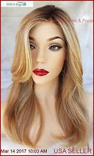 SCENE STEALER Synthetic Wig Heat Safe *COLOR SHADED WHEAT RL14/22SS *GORGEOUS