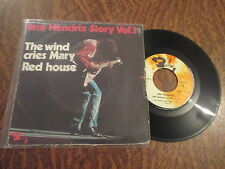 45 tours jimi hendrix story volume 3 the wind cries mary