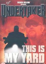 WWF Undertaker This is my Yard 2001 ORIG VHS WWE Wrestling SV
