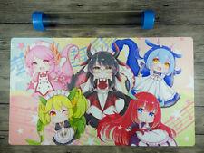 YuGiOh Grils Dragonmaid Deck Custom Mat Trading Card Game Playmat Free Best Tube