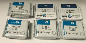 6er SET original HP 84 + HP 85 B/C/M/Y/LC/LM für HP Designjet 30/90/130 Series