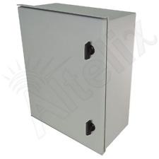 Altelix 20x16x8 Fiberglass NEMA Box 3X Weatherproof Outdoor Equipment Enclosure