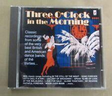 JAZZ COMPILATION : THREE O'CLOCK IN THE MORNING : CD Album : 2009 : VIX9005