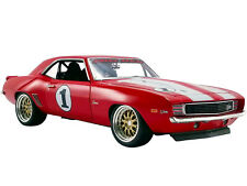 "1969 CHEVROLET CAMARO #1 ""BIG RED CAMARO"" LTD 1/18 DIECAST MODEL CAR GMP 18882"