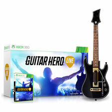 Guitar Hero Live Bundle Microsoft Xbox 360 Video Game + Controller New