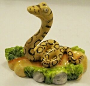 Beswick Novelty Figurines - The GRUFFALO - This is the SNAKE