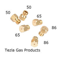 Set of 6 Gas Jets LPG Natural Conversion Hob Oven Cooker .50 .65 .65 .68 .75 .85
